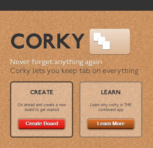 corkyapp.com smaller